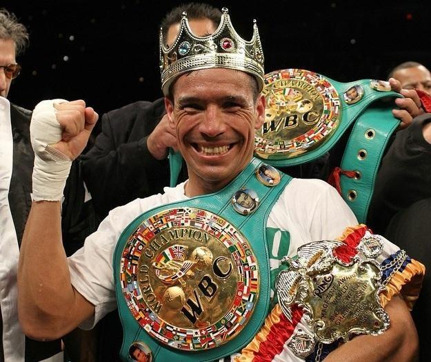 Sergio Martinez po walce z Paulem Williamsem /AFP
