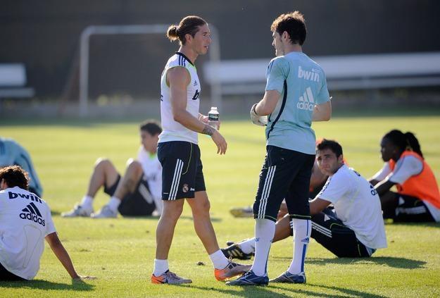 Sergio Ramos i Iker Casillas zgodzili się na niepodnoszenie premii za mistrzostwo Hiszpanii /AFP