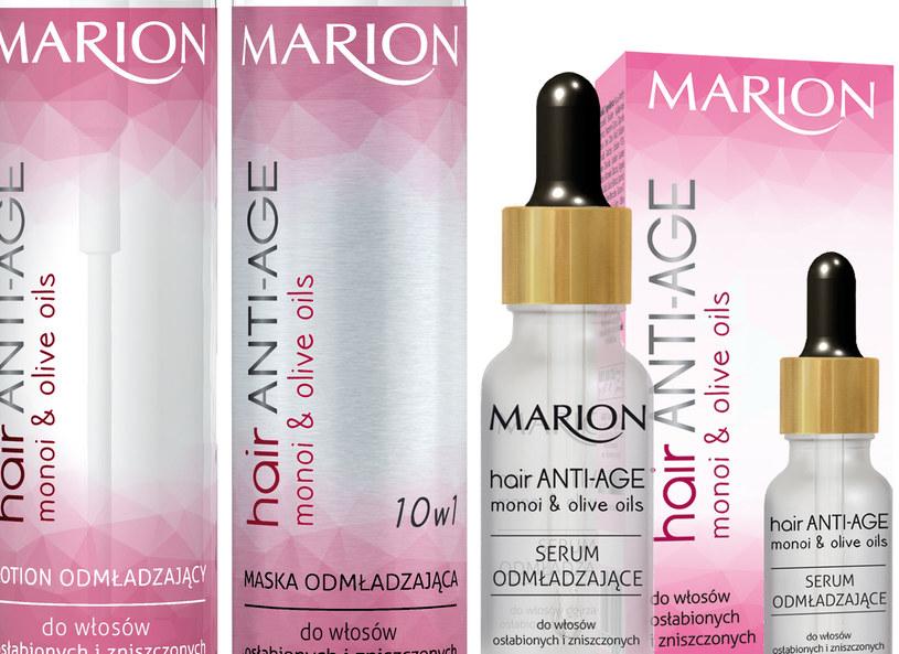 Seria Hair Anti Age od Marion /materiały prasowe