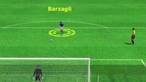 Seria rzutów karnych w meczu Niemcy - Włochy