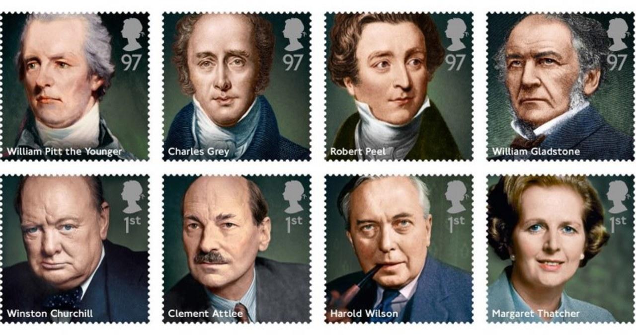 Seria znaczków z brytyjskimi premierami bez Tony'ego Blaira