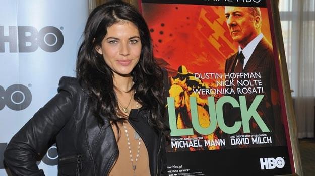 """Serial """"Luck"""" to największe wyzwanie w dotychczasowej karierze Weroniki Rosati /East News"""