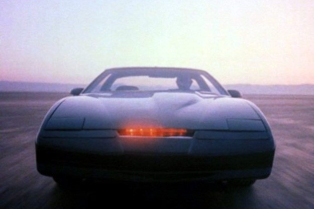 """Serial """"Nieustraszony"""" pobił rekordy popularności, także dzięki pojazdowi KITT /materiały prasowe"""