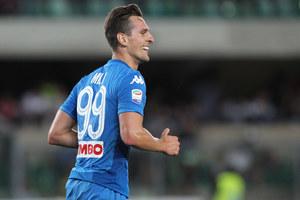 Serie A. Maurizio Sarri: Milik zabezpieczał nam dwie pozycje