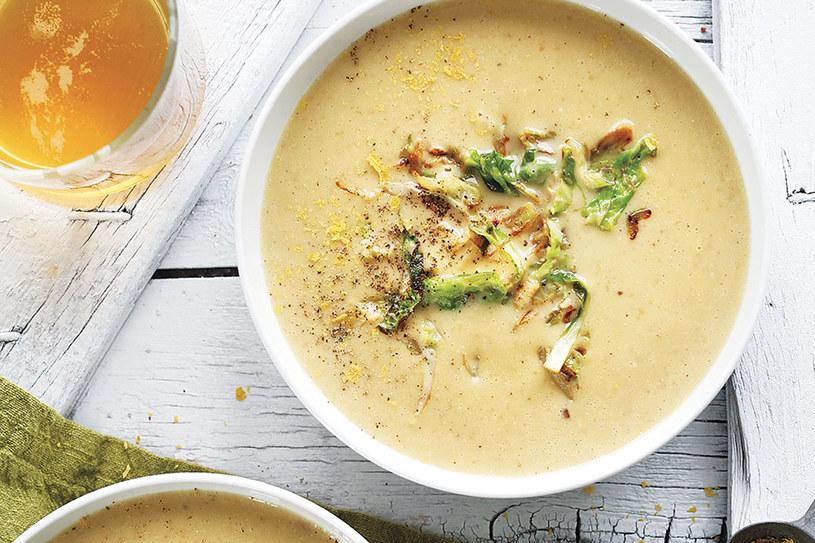 Serowa zupa piwna /materiały prasowe
