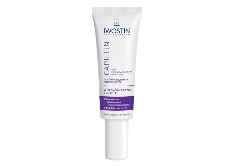 Serum przeciwzmarszczkowe na naczynka Iwostin Capillin /materiały prasowe