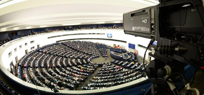 Sesja Parlamentu Europejskiego w Strasburgu /Patrick Seeger  /PAP/EPA