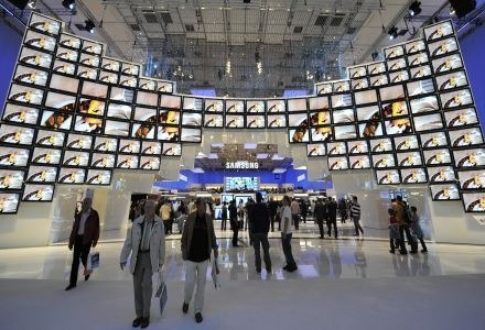 Setki telewizyjnych premier - IFA zaskakuje skalą, ale kogo będzie na to stać? /AFP