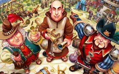 Settlers 7: Droga do Królestwa - fragment okładki z gry /Informacja prasowa