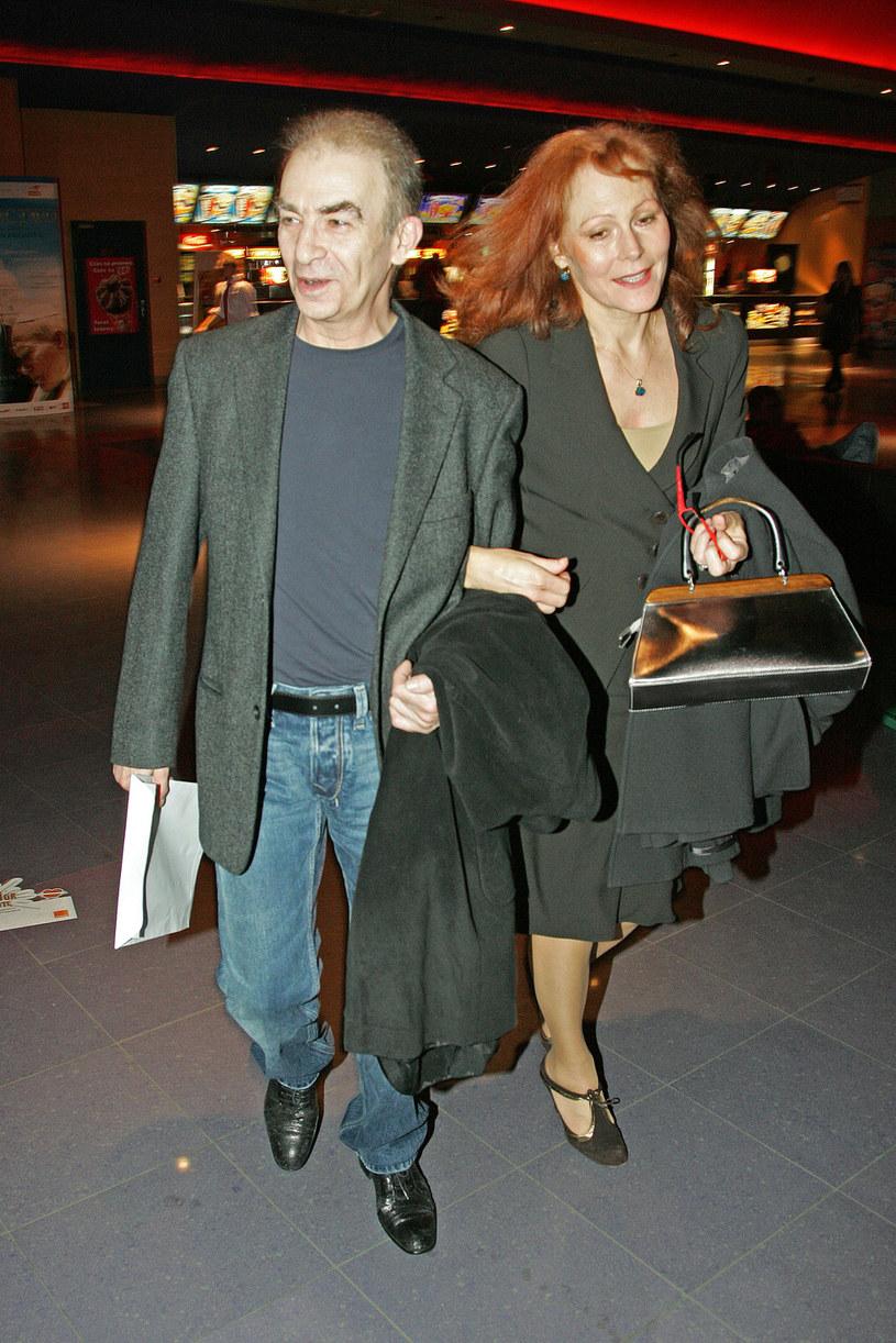 Seweryn Krajewski z żoną / Engelbrecht /AKPA