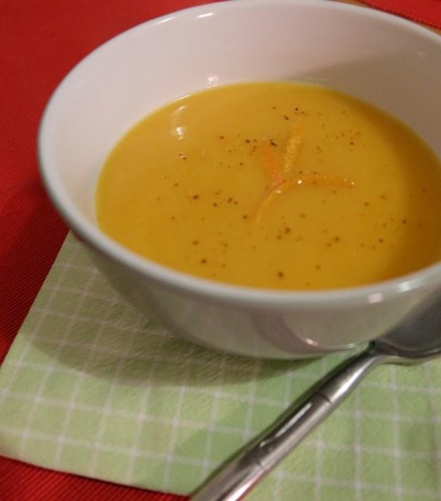 Sezon na zupy – bataty, fenkuł i pomarańcza