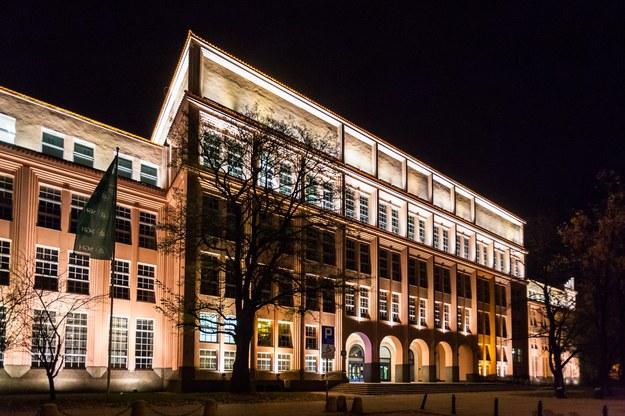 SGH, budynek główny /Adam Burakowski /Reporter