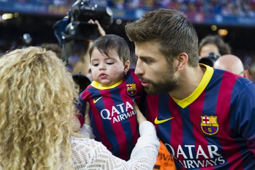 Shakira, Gerard Pique i Milan /Splashnews/Eastnews