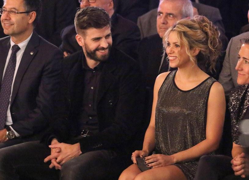 Shakira z partnerem /East News