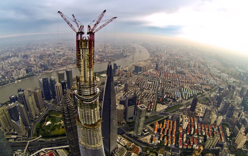 Shanghai Tower /AFP