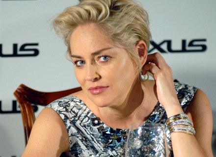 Sharon Stone, fot. Andrzej Szilagyi /MWMedia