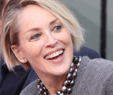 Sharon Stone i jej rozkoszny pupil