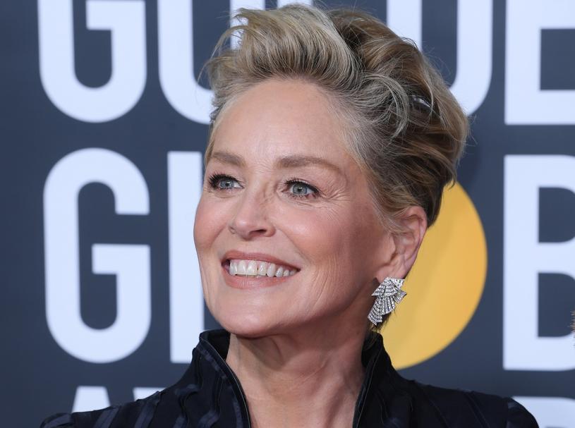 Sharon Stone podczas rozdania Złotych Globów /David Fisher /East News