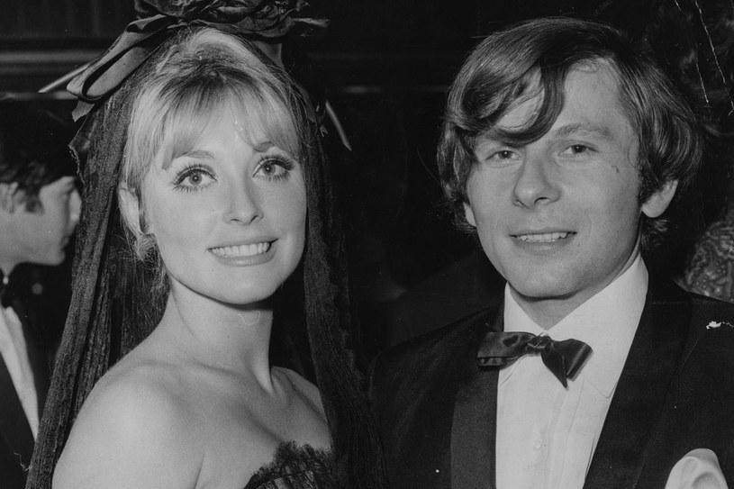 Sharon Tate i Roman Polański w 1966 roku /Getty Images