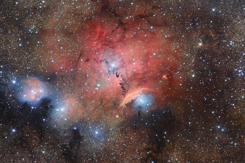 Sharpless 29 - gwiezdny żłobek - uchwycony przez OmegaCAM /materiały prasowe