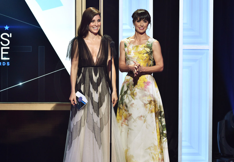 Shiri Appleby i Constance Zimmer podczas gali rozdania Television Critics Awards /Kevin Winter /Getty Images