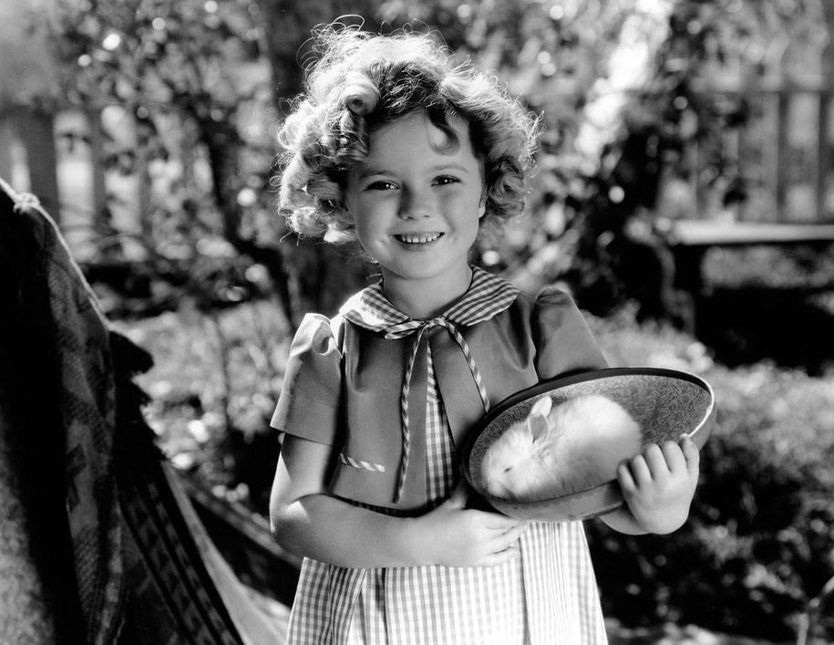 Shirley Temple, zdjęcie z 1934 roku /HA    /PAP/EPA