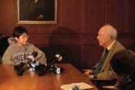 Sho Yano udziela wielu wywiadów...   Fot. Chicago Chronicle /INTERIA.PL