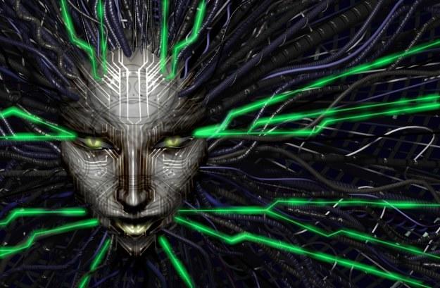 """SHODAN - sztuczna inteligencja z gry """"System Shock"""" /materiały prasowe"""