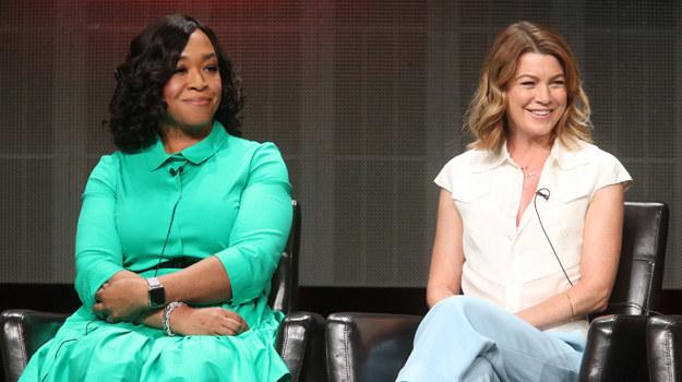 "Shonda Rhimes, producentka i pomysłodawczyni ""Chirurgów"", oraz Ellen Pompeo (Meredith Grey) /Frederick M. Brown /Getty Images"