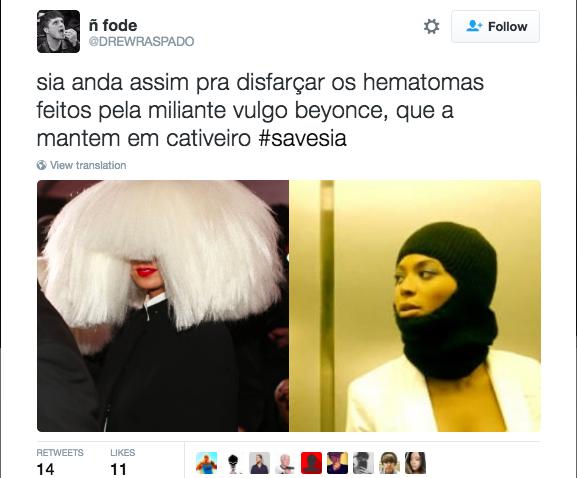 """""""Sia próbuje ukryć blizny, które zrobiła jej Beyonce podczas porwania"""" /"""