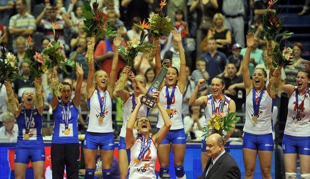 Siatkarki Serbii mistrzyniami Europy. W finale pokonały Niemki 3:2 /AFP