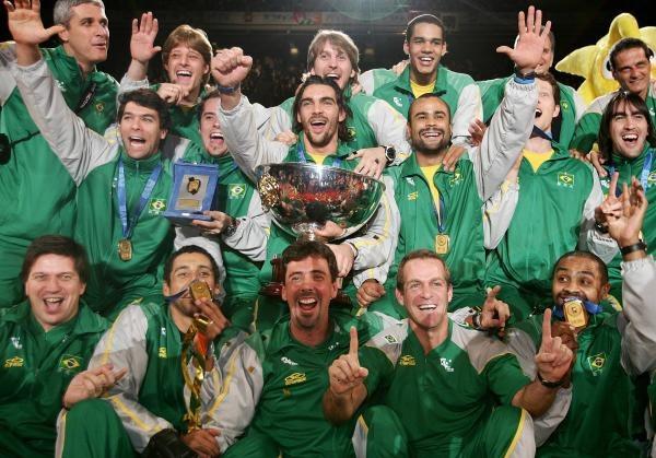 Siatkarze Brazylii wygrali Puchar Mistrzów /AFP