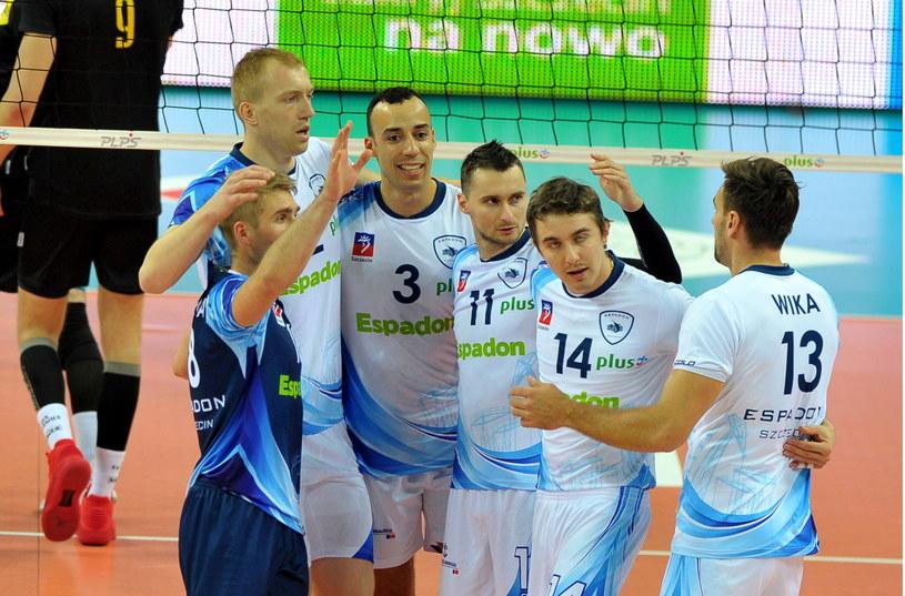 Siatkarze Espadonu przegrali z GKS Katowice 2:3 /Fot. Marcin Bielecki /PAP