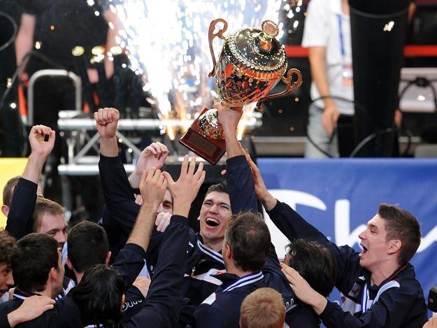 Siatkarze Serbii zdobyli złoty medal mistrzostw Europy /AFP