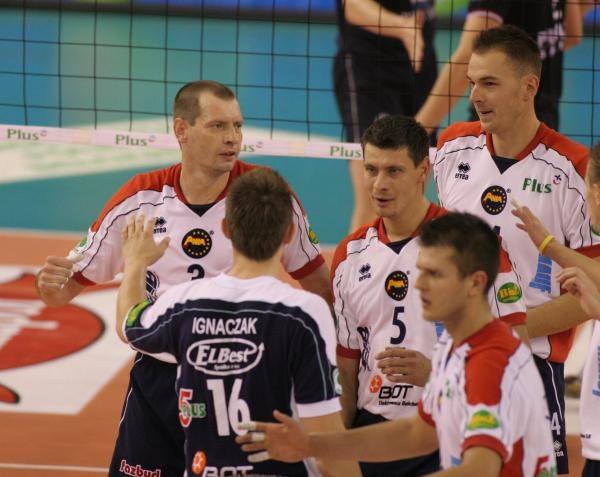 Siatkarze Skry Bełchatów zainkasowali trzy punkty w Warszawie. Fot. Grzegorz Michałowski /Agencja Przegląd Sportowy