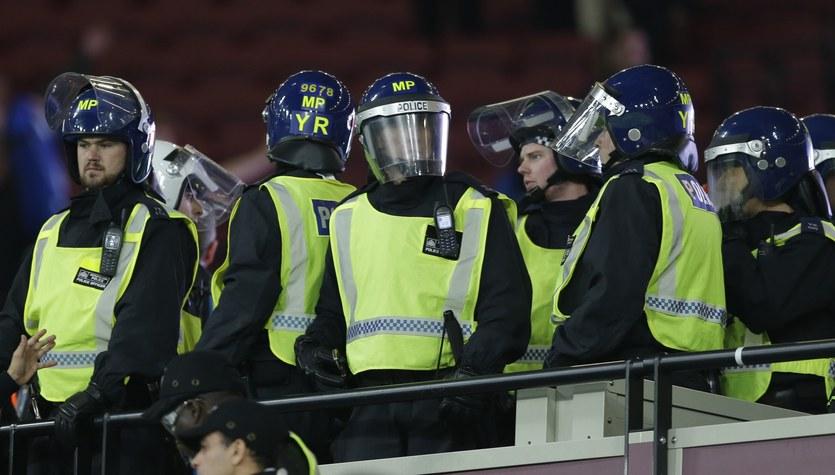 Siedmiu aresztowanych po meczu West Ham - Chelsea w Pucharze Ligi