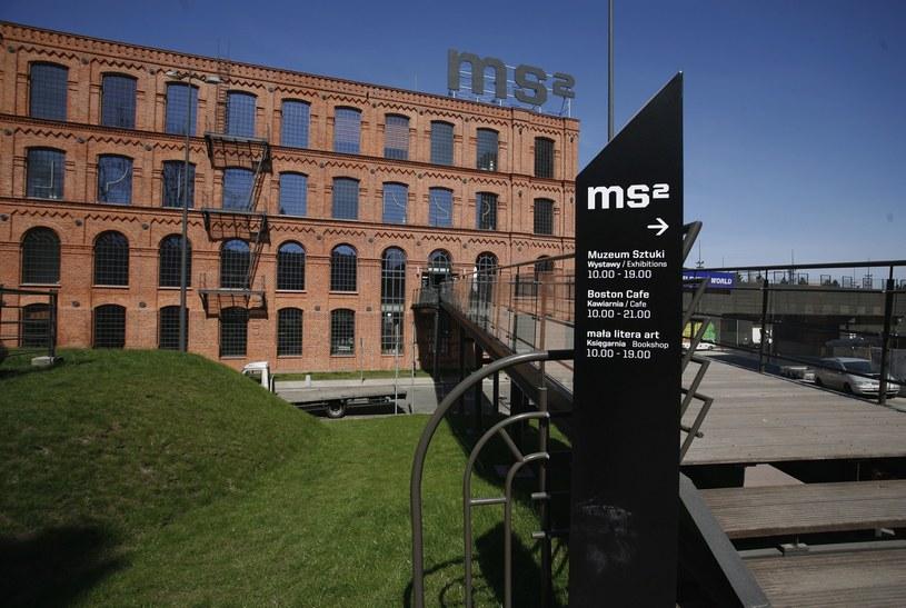 Siedziba Muzeum Sztuki w Łodzi; to tuja powinno znajdować się dzieło /Cezary Pecold /East News