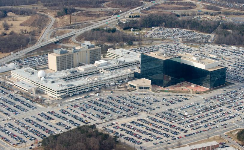 Siedziba NSA w Maryland /SAUL LOEB /AFP