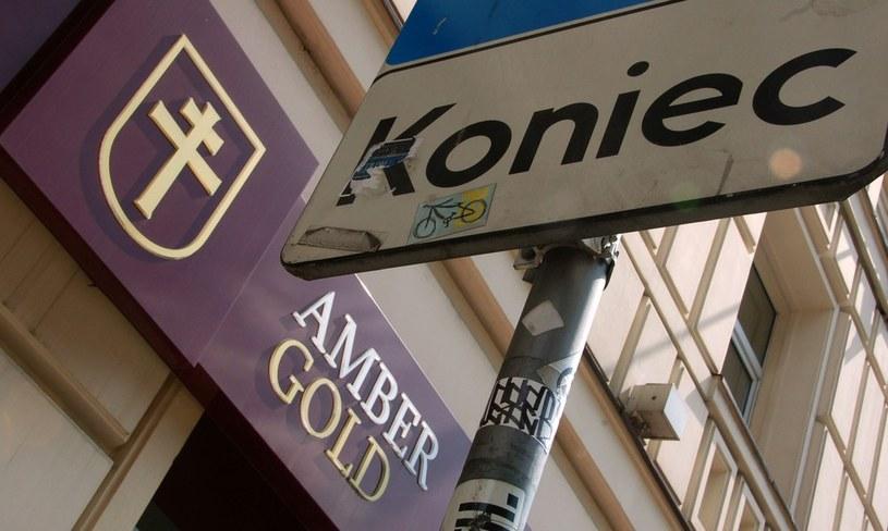 Siedziba oddziału firmy Amber Gold /Włodzimierz Wasyluk /Reporter