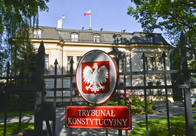 Siedziba Trybunału Konstytucyjnego /Wlodzimierz Wasyluk /East News