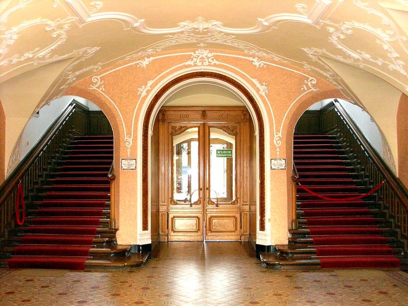 Sień z głównymi schodami/źródło: Dariusz Pietrucha /Odkrywca