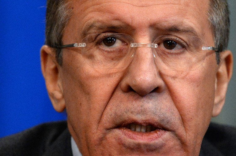 Siergiej Ławrow, szef rosyjskiego MSZ /AFP