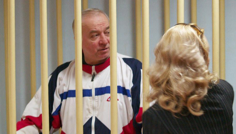 Siergiej Skripal w 2006 roku /Photo ITAR-TASS / Press Service /PAP/EPA