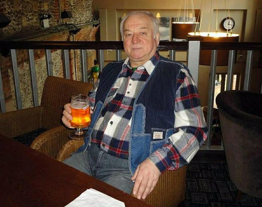 Siergiej Skripal /RUSSIAN LOOK /PAP