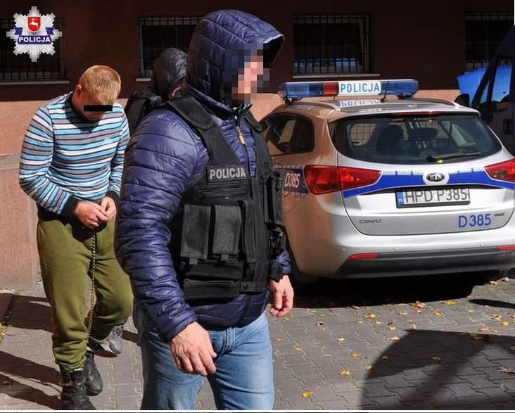 Siergiej V. przyznał się do zabójstwa; źródło: lubelska.policja.gov.pl /