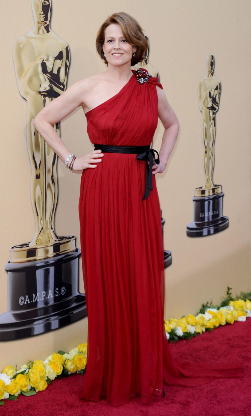Sigourney Weaver w sukni od Lanvina  /Getty Images/Flash Press Media