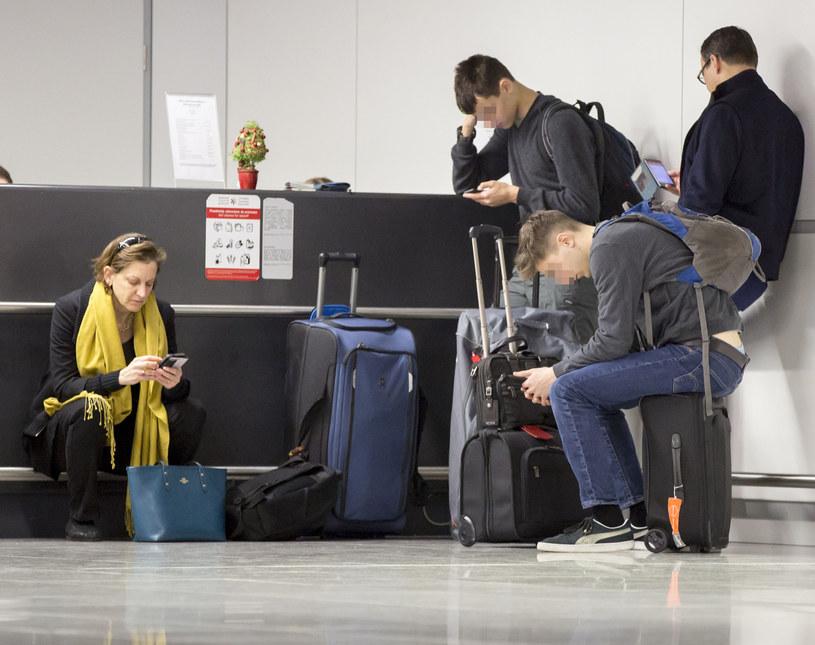 Sikorscy na lotnisku /Foto IP
