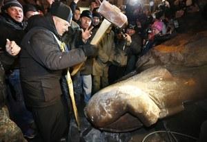 Sikorski: Cieszę się, że w Kijowie nie ma już pomnika Lenina