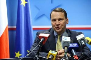 Sikorski: Jeśli nie dojdzie do deeskalacji konfliktu, to nastąpi rewizja stosunków z FR