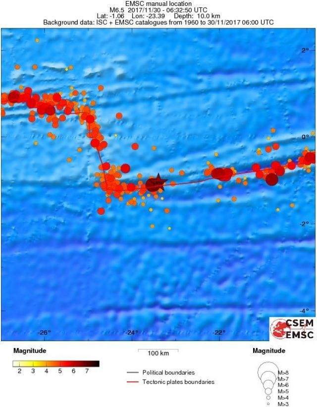Siła wstrząsu została określona na 6,7 stopni w skali Richtera /materiały prasowe